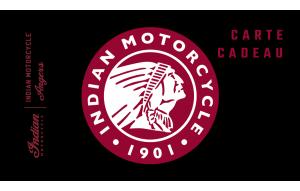 Rouge Indian Motorcycle et Noir